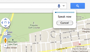 Google adds voice search to Maps for Chrome Users