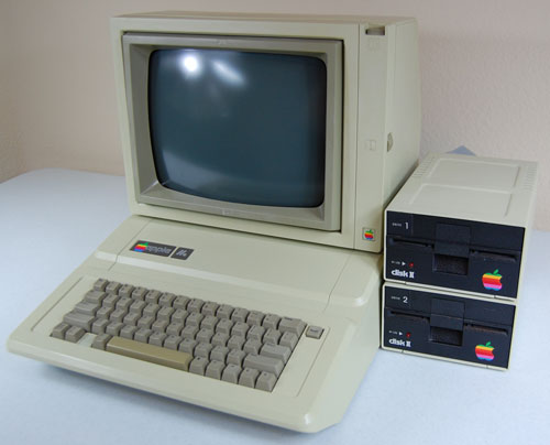 After the disaster that was the Apple III, Apple released the Apple IIe in 1983, adding a full ASCII character set and keyboard. The IIe is the longest-living product in Apple's history, having sold for 11 years with few changes. (Photo credit: vectronicsappleworld.com)