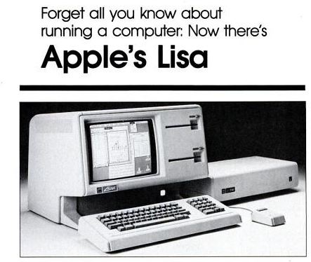 The Apple Lisa debuted in January 1983 and cost $9,995 US. It introduced a modern graphical user interface, support for up to 2MB of RAM and had an internal hard drive in addition to expansion slots. Although Jobs was kicked off the Lisa team in 1982, it was very much his baby. Coincidentally, Jobs' first child was named Lisa.