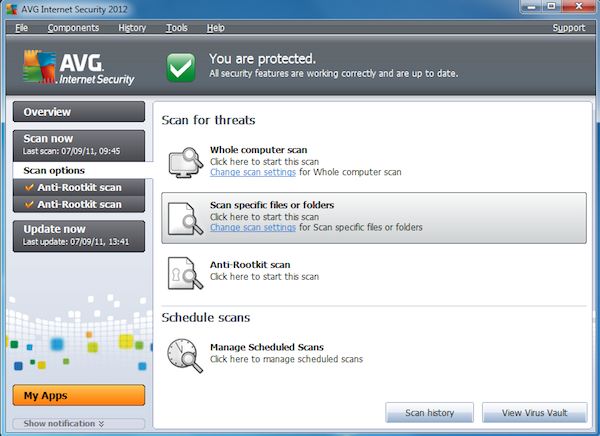 AVG Internet Security 2012 in-depth review