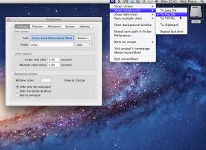 InstantShot: Better screen capture for your Mac