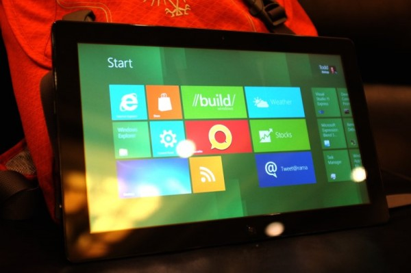 Hands on with the Samsung Windows 8 slate