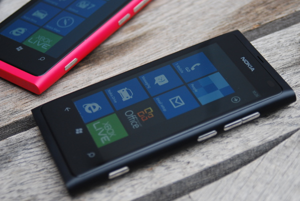 Nokia Lumia 800 black