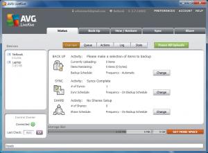 AVG LiveKive 2012 review