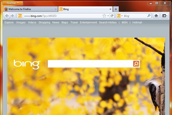 google images freezes firefox. Microsoft is promoting Firefox with Bing. The default search engine,