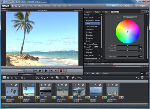 Magix movie edit pro mx plus review for Magix movie edit pro templates