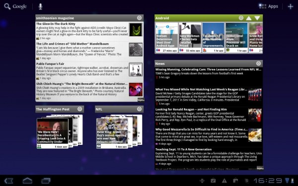 Taptu ties together professional and social news feeds