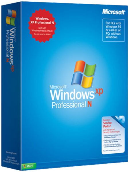 "In March 2004, the European Union Competition Commission ruled that Microsoft violated antitrust laws and must release locally Windows XP sans the media player.  Microsoft coyly planned to call the new version Windows XP Reduced Media Edition, but  later changed this middle finger to European trustbusters to ""N"". [Microsoft]"