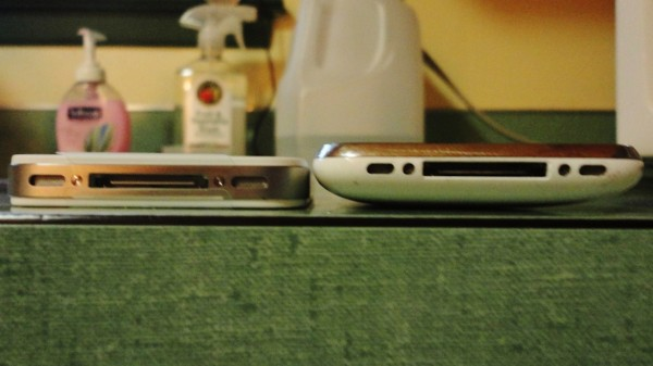 The iPhone 4S is just 9.3 mm thick, compared to 12.3 mm for the iPhone 3GS.