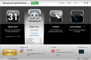 Advanced SystemCare 5: Faster, smoother PC management