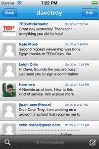 Shortmail makes iOS debut