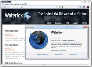 Can't wait for Firefox 64-bit? Try Waterfox 8