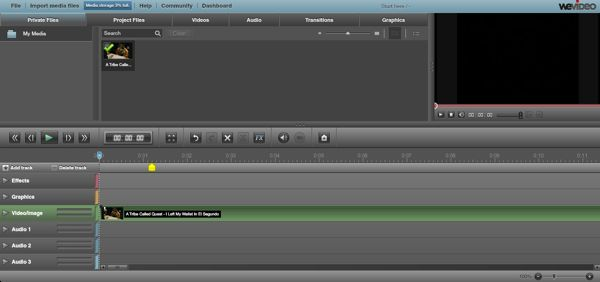 WeVideo delivers free collaborative, browser-based video editing