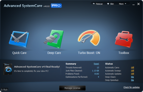 Happy Holidays! IObit Advanced SystemCare PRO 4 is our free gift ...