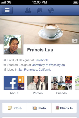 Facebook for iOS 4.1 mini-review