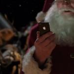Santa Siri ad