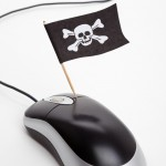 hacked mouse skull and crossbones