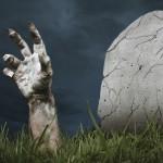 hand zombie grave