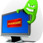 security danger virus malware