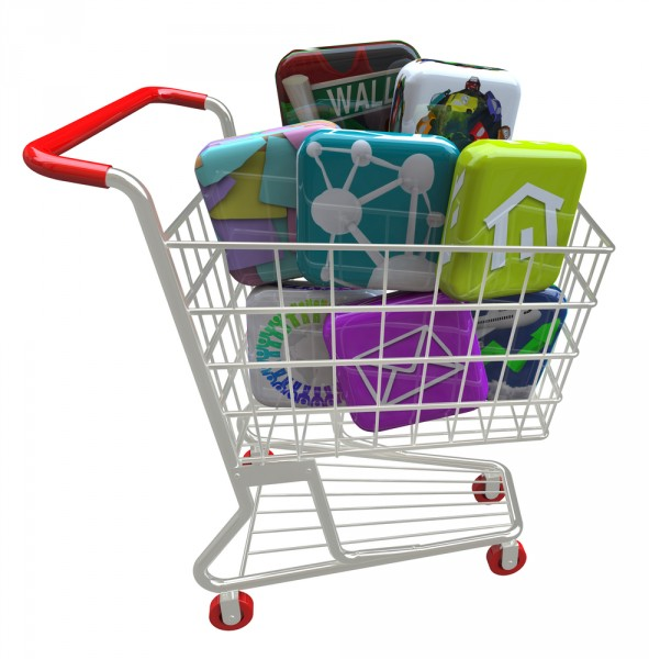 software apps shopping cart sale