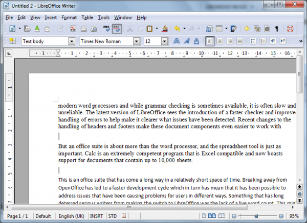 LibreOffice Productivity Suite 3 5 0 review | BetaNews