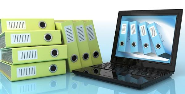 document pdf laptop folder file