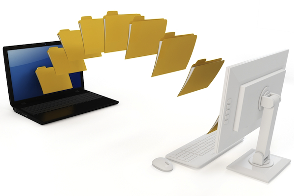 files folders pc transfer move