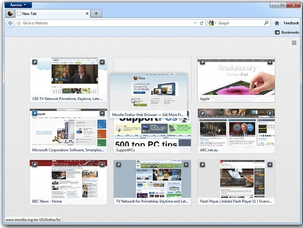 Get ready for exciting changes coming to Firefox 13, 14 and 15