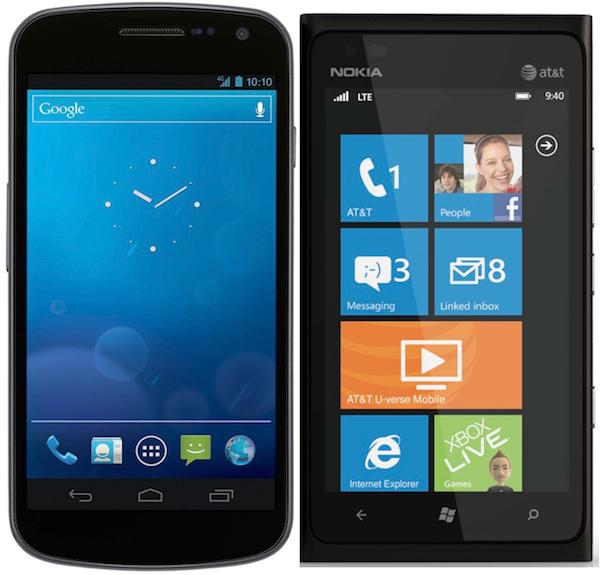 Samsung Galaxy Nexus And Nokia Lumia 900 Is A Fair Comparison