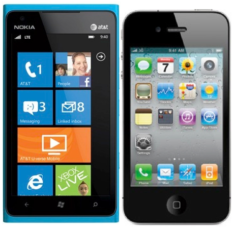 trade nokia lumia 900 for iphone without