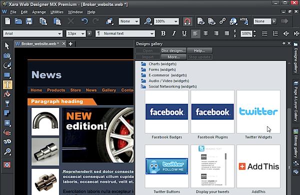 Xara Web Designer Mx 8 Premium Review