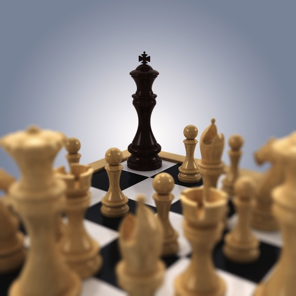 chess checkmate surrender