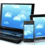 cloud computing laptop smartphone tablet