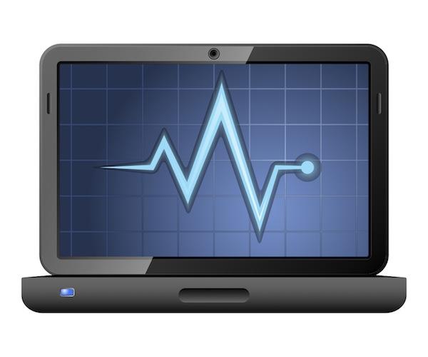 laptop task manager monitoring