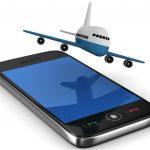 plane smartphone