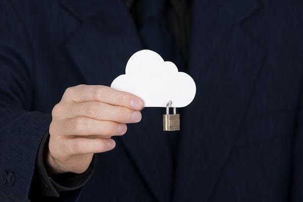 cloud padlock