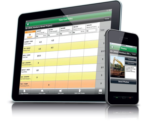 Hcss debuts construction erp apps for ios android devices for Application construction maison android