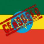 Ethiopian Flag Censored