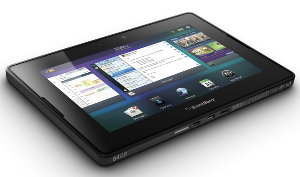 4G LTE BlackBerry PlayBook makes iOS and Android devices feel about