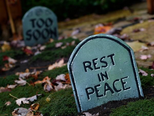rest in peace RIP gravestone