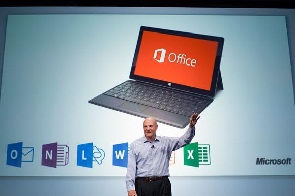 Steve Ballmer intros Office 2013 Office 2013 (60 Günlük) Full Sürümü Bedava indirin