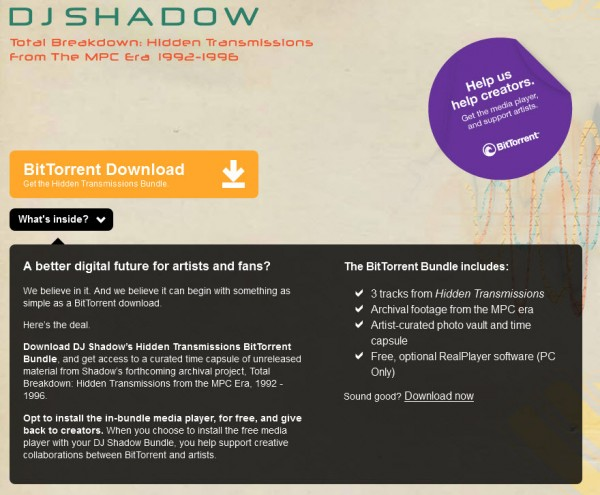 bittorent shadow experimental