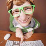 nerd geek keyboard