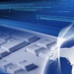 net WWW keyboard web globe cloud