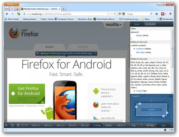 Download Firefox 15 and Thunderbird 15 NOW!