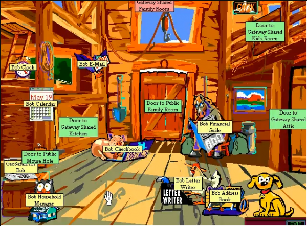 Windows 8 suffers from the Microsoft Bob effect