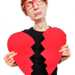 broken heart disappoints sad unhappy