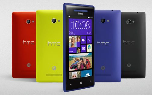 HTC's new Windows Phone 8 smartphones mimic Microsoft's ...