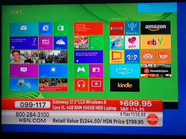 home shopping network previews new windows 8 apps. Black Bedroom Furniture Sets. Home Design Ideas