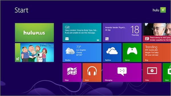 Hulu Plus comes to Windows 8